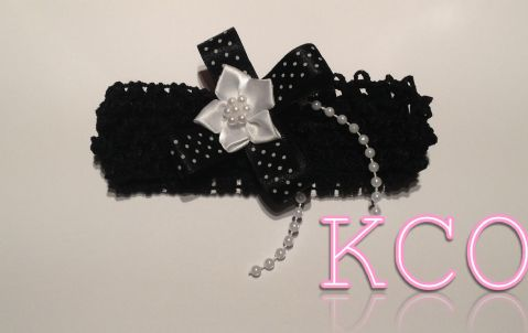 Black/White~ Girls Headbands